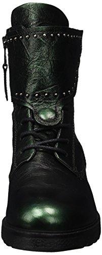 Mjus 0101 Combat Women's Lichene 6461 190204 Boots Green 11qfxAaw