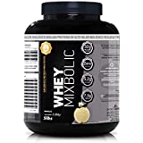 Whey Protein Mix Bolic 5Lbs - 2268g - Sports Nutrition (Baunilha)