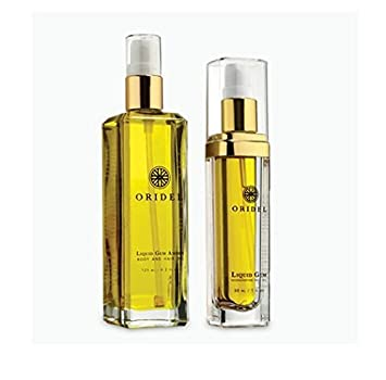 Oridel Liquid Gem Face and Body Oil Set with Argan Oil and Sea Buckthorn