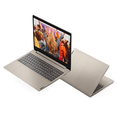"2020 Lenovo IdeaPad 3 15.6"" Full HD Laptop, AMD Ryzen 5 3500U Quad-Core Processor, 8GB Memory, 256GB SSD, Vega 8 Graphics, Webcam, WiFi, Windows 10, Almond, Google Classroom Compatible"
