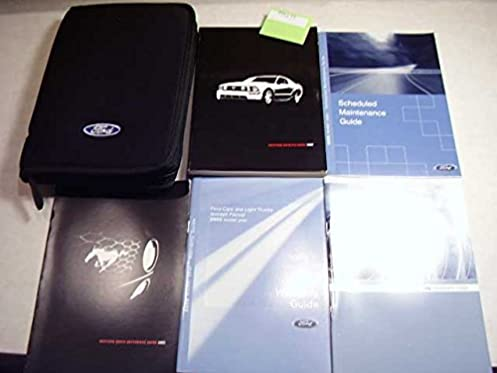 2005 ford mustang owners manual ford motor company amazon com books rh amazon com 2005 Ford Mustang GT Trans 2004 Ford Mustang Interior