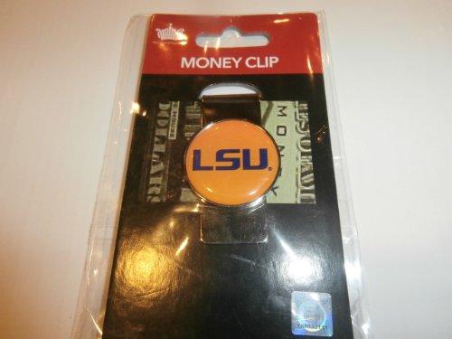 aminco NCAA LSU Tigers Domed Money Clip (Lsu Watch And Wallet)