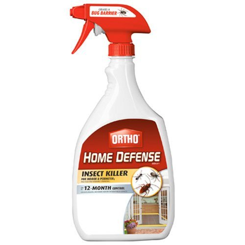 Ortho 0196410 Home Defense MAX Insect Killer Spray for Indoor and Home Perimeter, 24-Ounce (Ant, Roach, Spider, Stinkbug & Centipede (Ants Spiders)