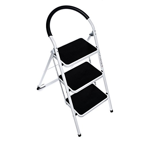 Best Price Delxo 3 Step Ladder Folding Step Stool
