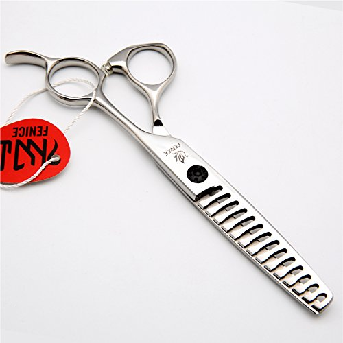 Fenice 6'' High Quality Salon Hairdressing Thinning scissors Thinning shears For Stylist Japan 440C 14 Teeth