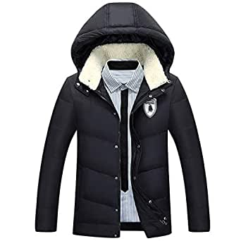 Winter Hooded White Duck Down Jacket Thick Coats Down