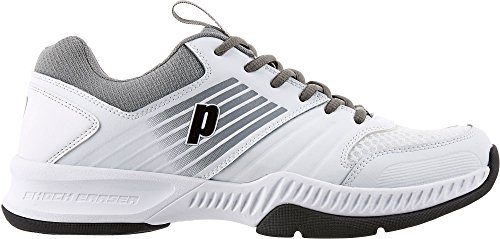 Prince Men's Truth Tennis Shoes (13-M) White/Grey