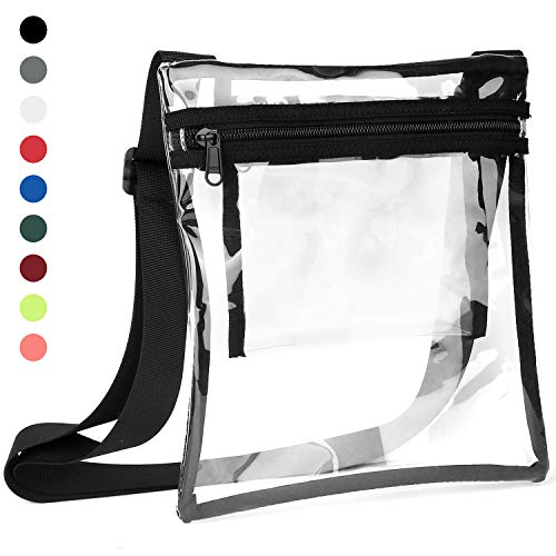 Vorspack Clear Bag Stadium Approved Clear Concert Purse with Inner Pocket (Best Place To Purchase Concert Tickets)