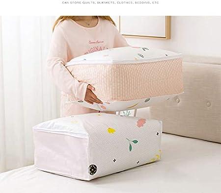 Wandschrank-Deckbett-Bettw/äsche Duvets Beh/älter 57 * 22.5 * 41Cm Flamingo GTKY 2 // Pcs Faltbarer Schrank-Steppdecken-Speicher-Beutel Kleidungs-Kissen-Decken-Speicher-Organisator