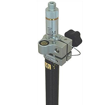 Robotics Carbon Fiber, One Section Prism Pole - cm/10ths Grad