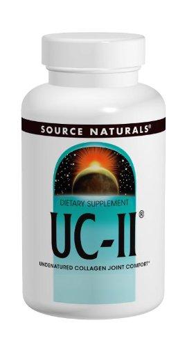 Source Naturals UC-II コラーゲン 60カプセル (60日分)[海外直送品] B0040XNSBG