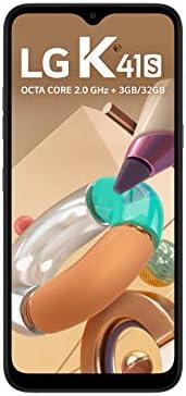 """Smartphone LG K41S 32GB, RAM de 3GB, Tela de 6,5"""" V- Notch, Câmera Quádrupla e Processador Octa-Core 2.0, Tita"""