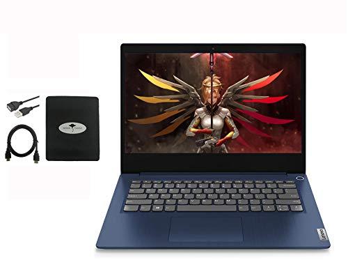 2020 Newest Lenovo IdeaPad 14″ FHD Business Laptop Computer, AMD Ryzen 5 3500U(Beat i7-8550U), 20GB RAM, 256GB SSD, AMD Radeon Vega 8, HDMI Bluetooth, Windows 10 w/Ghost Manta Accessories
