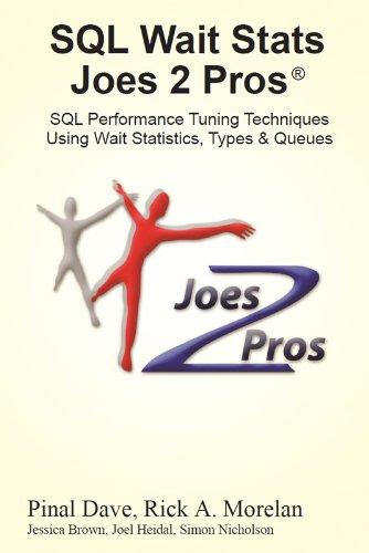 SQL Wait Stats Joes 2 Pros: SQL Performance Tuning Techniques Using Wait Statistics, Types & Queues