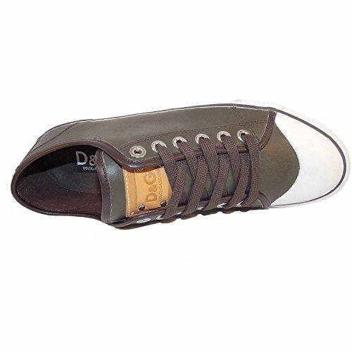 Dolce & Gabanna , Chaussures de ville à lacets pour homme Marron Marron