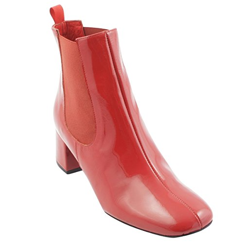 Women's Exclusif Boots Paris Boots Red Red Exclusif Exclusif Women's Paris fqC04X8