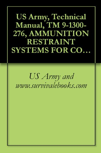 US Army, Technical Manual, TM 9-1300-276, AMMUNITION RESTRAINT SYSTEMS FOR COMMERCIAL AND MILITARY INTERMODAL CONTAINERS, (ASSEMBLY, INSTALLATION, REMOVAL AND OPERATION), (Intermodal Equipment)