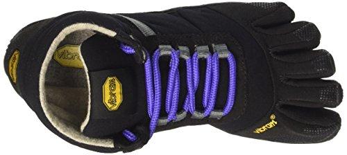 Viola Trek Black Scarpe Fivefingers Vibram Ascent Purple Insulated Donna Alta da Arrampicata wZzc61fqx