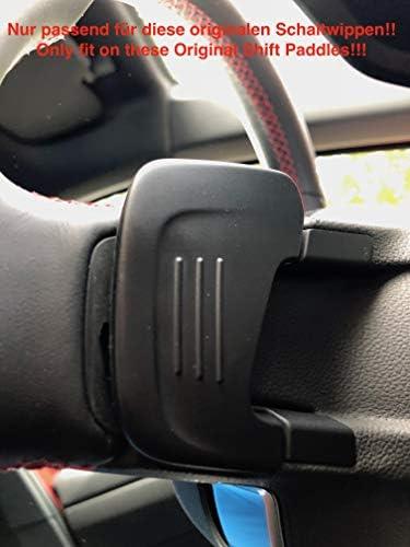 H Customs Dsg Schaltwippen Verlängerung Shift Paddle Golf 7 Nur Gti R Gtd Polo Gti 2018 Alu Eloxiert Red Auto