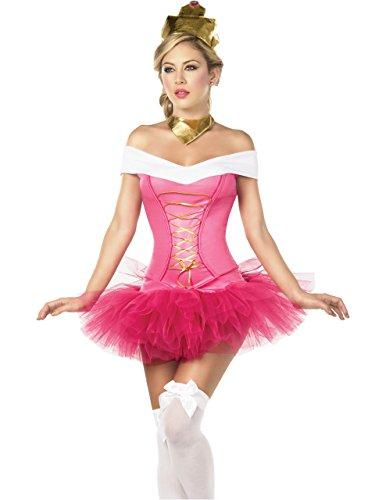 Slutty Fairy Costumes (Sexy Fairy Tale Ballet Princess 3 Piece Costume Set, Extra)