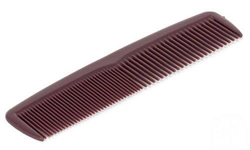 1 Haarkamm 12,5 cm in braun von Medi-Inn Kamm