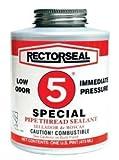 Rectorseal 26551 1/2 Pint Brush Top No.5SpecialPipe Thread Sealant