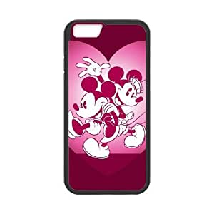 iphone6 4.7 inch Cell phone case Black Disney Mickey Mouse Minnie Mouse - THYK9658989