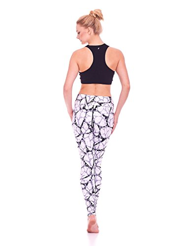 Mio Active Long Jazzy Pebble Yoga Pants MS16S7L