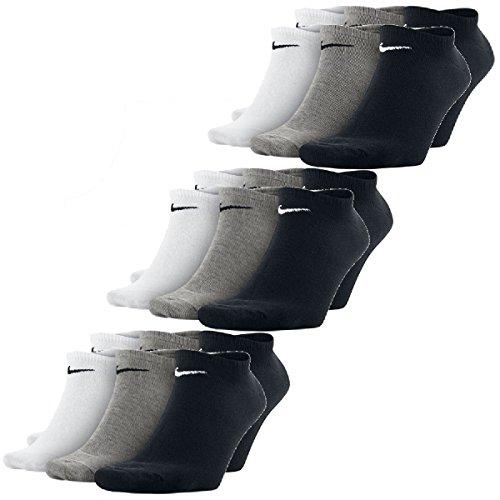 Sneakersocks Sneaker Paar Sokken Nike Wit Zwart 9 Grijs Booties zHWnWB