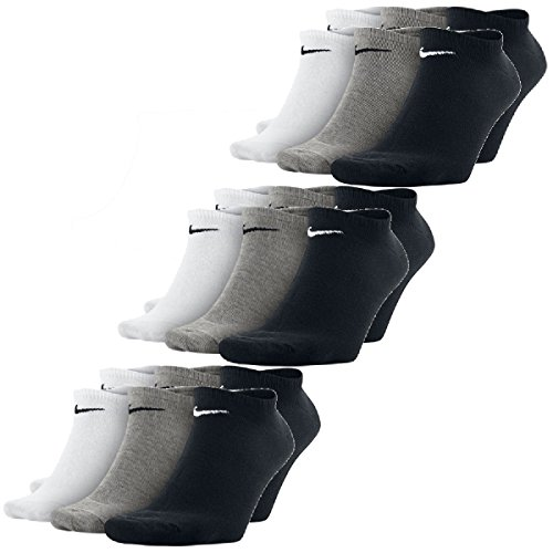 Nike Paar Sneaker Wit Zwart 9 Grijs Booties Sokken Sneakersocks g5qRRd