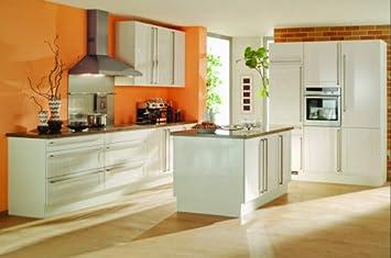 Amazon.de: Inselküche /Riesige-Küche mit Insel in Magnolie ...