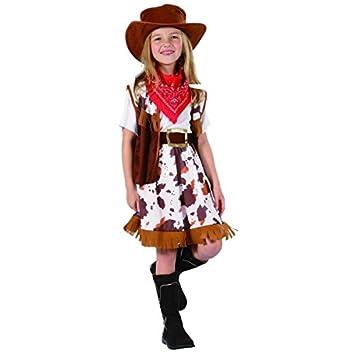 3125cc5cb8e53 Disfraz vaquera niña - 4 - 6 años  Amazon.es  Juguetes y juegos