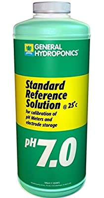 1-Pc Crucial Popular GH Calibration SolutionsHighest Quality Reliable Results Hydroponics pH pH7.01 Volume 32 oz