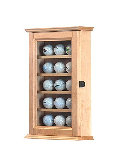 (Desktop Golf Ball Display- Maple Hardwood *Made in the USA*)