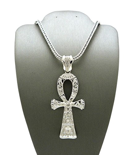Special Franco Chain (Letter Love Fashion Ankh Cross Pendant W/ 4Mm 36