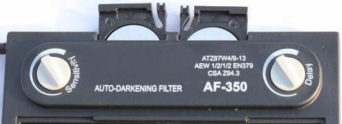 ArcPro 20704 Auto-Darkening Solar Powered Welding Helmet with Grinding Mode Alien Design