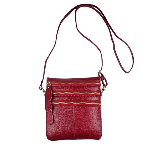 Shoulder X Purse Teen 6 Plus Bag for Red Ladies Fit Women 6S Handbags 5C Crossbody 8 5S 7 Girls iPhone CARQI 1tE7xw