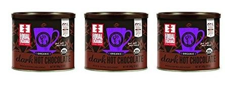 Equal Exchange Organic Dark Hot Chocolate Mix, 12 ounce (...