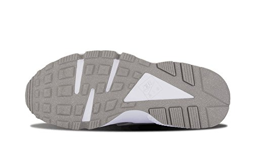 Huarache blanc Nike Air métallisé d'argent ZfS85Anq