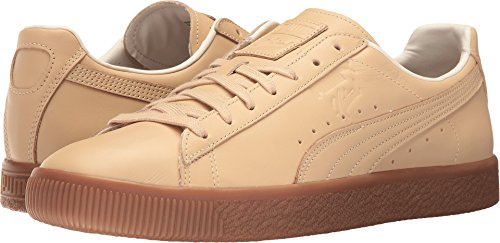 Leather High Men's Sneaker Clyde PUMA Fashion Ankle Vachetta Naturel Natural BXPqqI
