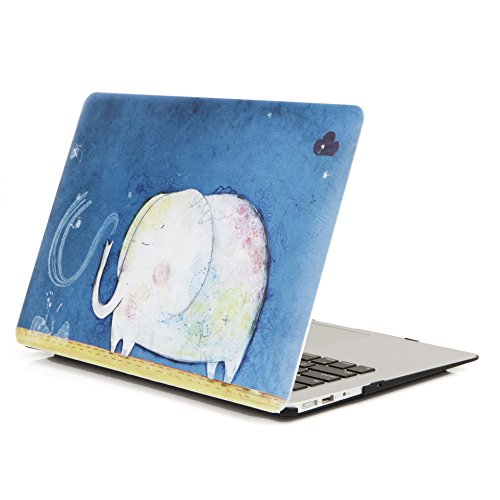 YMIX Plastic Protective MacBook Elephant