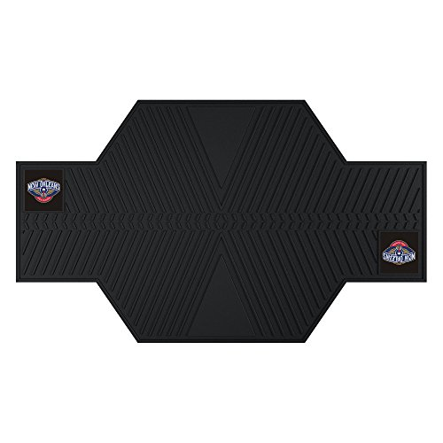FANMATS 15387 NBA New Orleans Hornets Motorcycle Mat by Fanmats