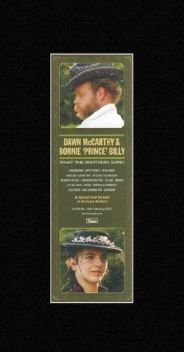 Dawn MCCARTHY & Bonnie 'Prince' Billy - What The Brothers Sang Mini Poster - 28.5x10cm