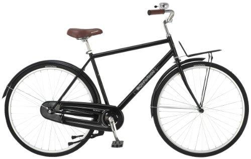 Schwinn Men's Scenic 700c Dutch Bicycle Black 18-Inch Frame [並行輸入品] B06XFVBN4T