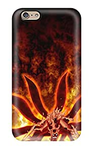 Hot Hot Snap-on Naruto In Six Tails Mode Hard Cover Case/ Protective Case For Iphone 6