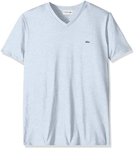 Lacoste Men's S/S V Neck PIMA Jersey T-Shirt, Lutea Chine, XXX-Large