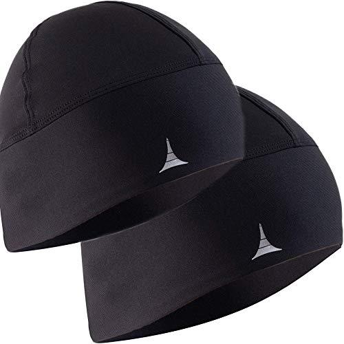 Skull Cap/Helmet Liner/Running Beanie - Ultimate Thermal Retention and Performance Moisture Wicking. Fits Under Helmets