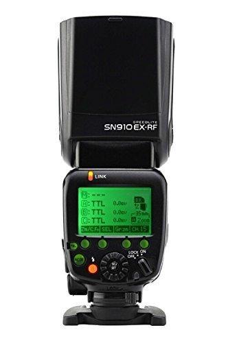 Shanny SN910EX-RF Wireless Radio Build-in 2.4GHz Flash Speedlite Master/Slave i-TTL HSS 1/8000s GN60 for Nikon D810 D800 D800E D700 D750 D610 D600 D300s D300 D200 D7100 D7000 D90 D80 D5300 D5200 D5100 D5000 D3000 D3100 D3200 D3300