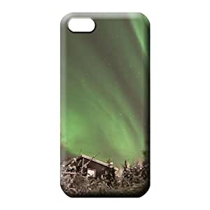 iphone 4 4s Shock-dirt PC Protective Stylish Cases phone carrying skins colorful aurora polar light polarization