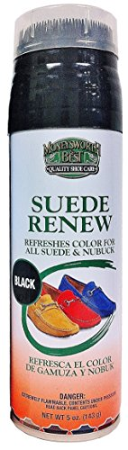 Moneysworth & Best Suede Renew Dye, 5 Ounce, Black